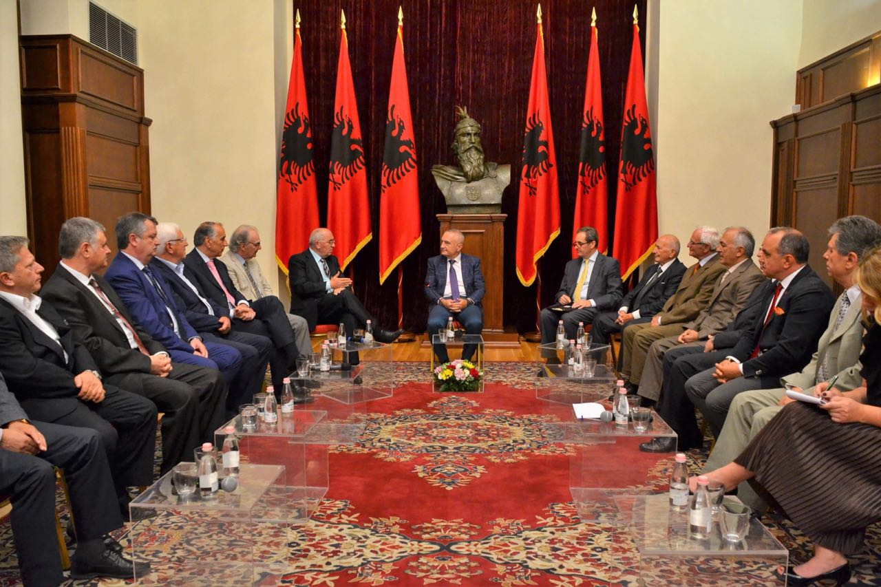 Këshilli i Ambasadorëve Shqiptarë, takim me Presidentin e Republikës së Shqipërisë